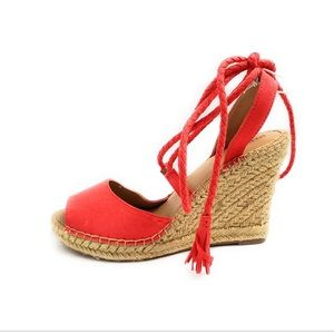 NEW Merona heel Espadrilles sandal